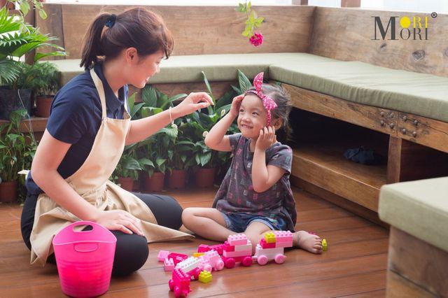 Người trông trẻ tại Mori là giải pháp đúng đắn cho mọi gia đình có trẻ nhỏ